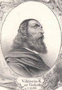 Idealizovaná Viktorinova podobizna z 19. století